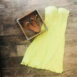 Brand New Victoria Secret Strapless Dress